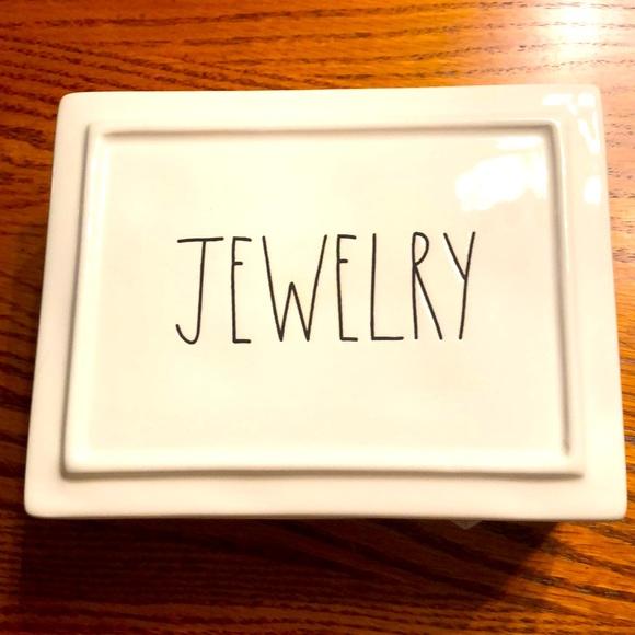 !!NWT!! Rae Dunn Jewelry Box